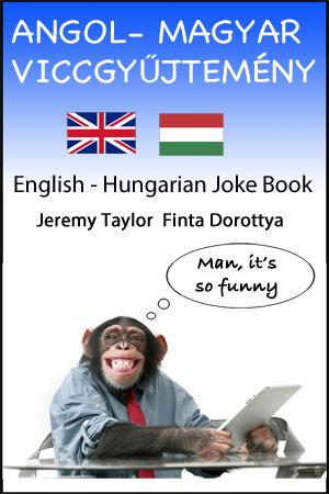 English Hungarian Joke Book large cover