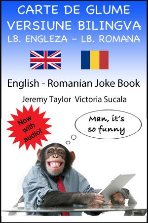 English Romanian Joke book - large cover