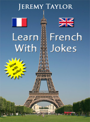 Learn French with Jokes cover