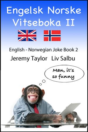 English Norwegian Joke Book 2 cover