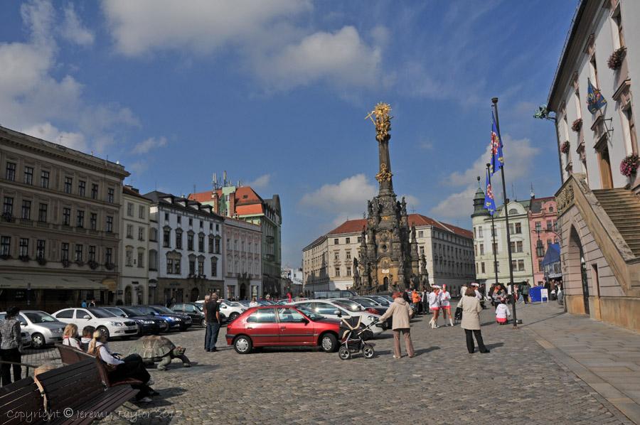 Olomouc car park