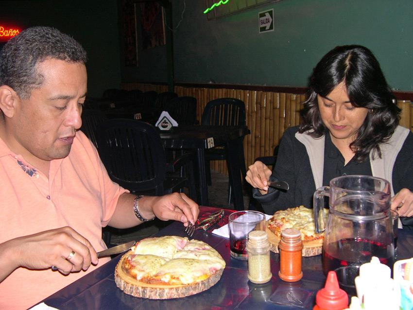 Peruvian pizza