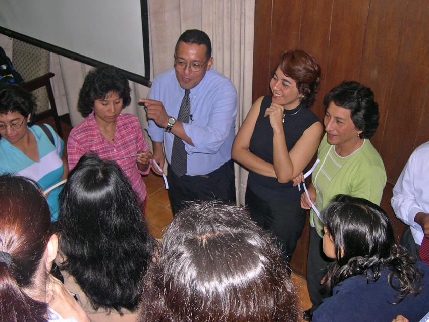Peruvian teachers