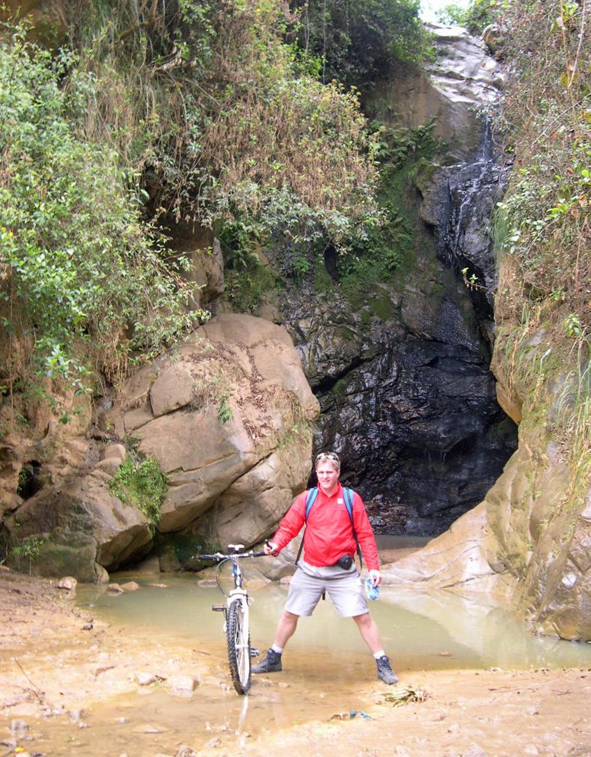 Peruvian waterfall