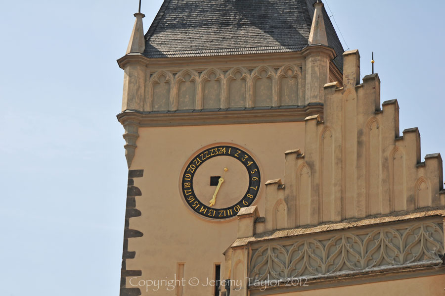 Tabor clock tower