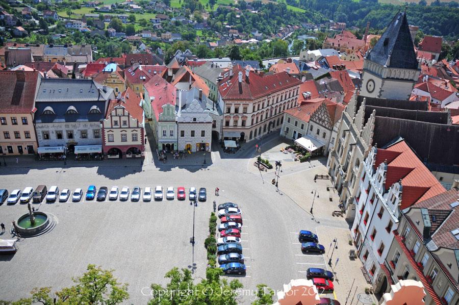 Zizka square in Tabor
