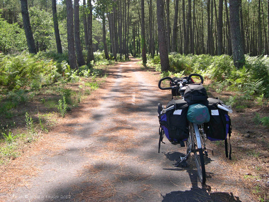 Cycling South West France