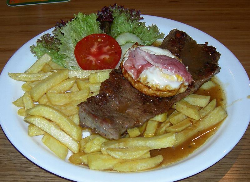 Czech steak