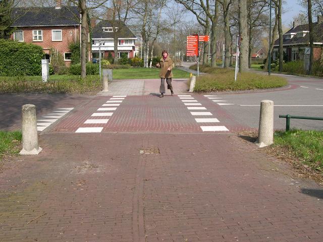 Pedestrian crossing in Holland