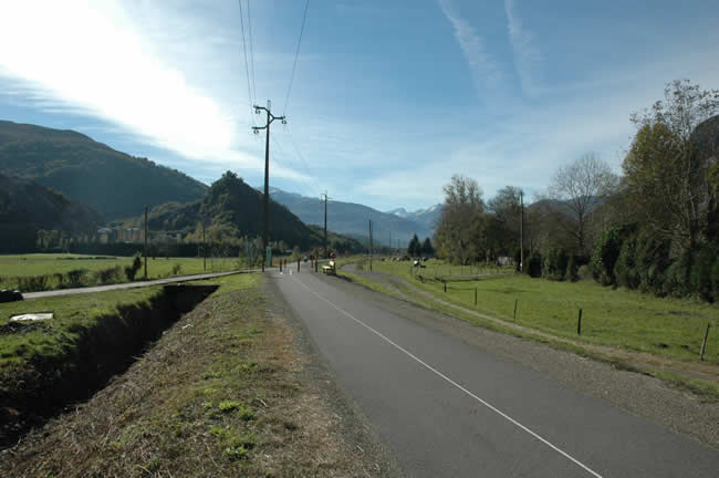 Lourdes cycle track