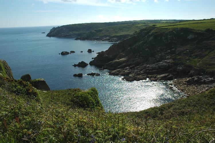 Rugged Cornish coast