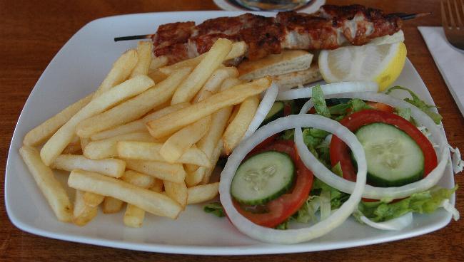 kebab in Cyprus