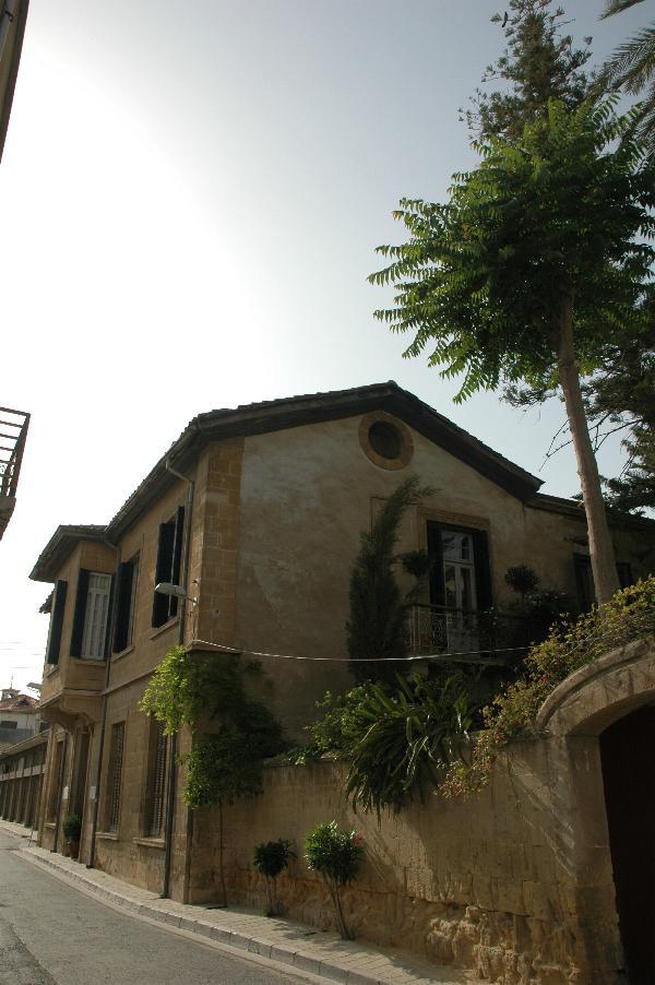 Quiet street in Nicosia