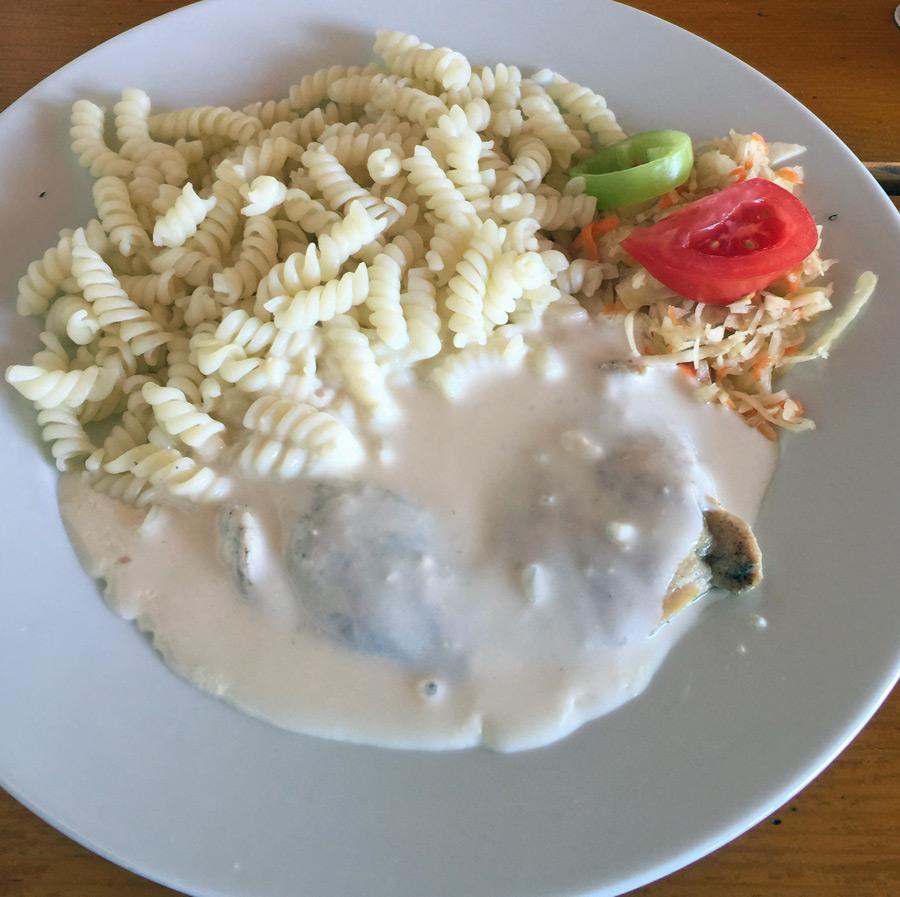 poor Czech meal