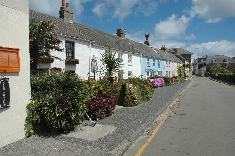 Hugh Town cottages