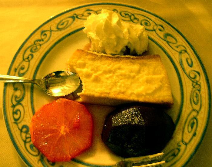 Spanish dessert cheesecake